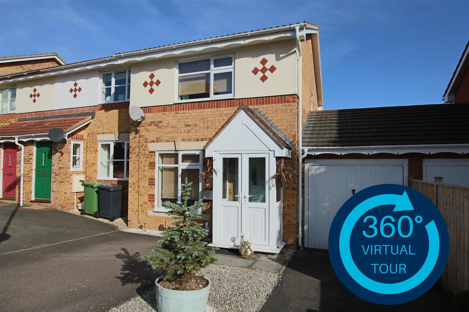 3 Bedrooms End Of Terrace House for sale in Round Table Meet, Exeter